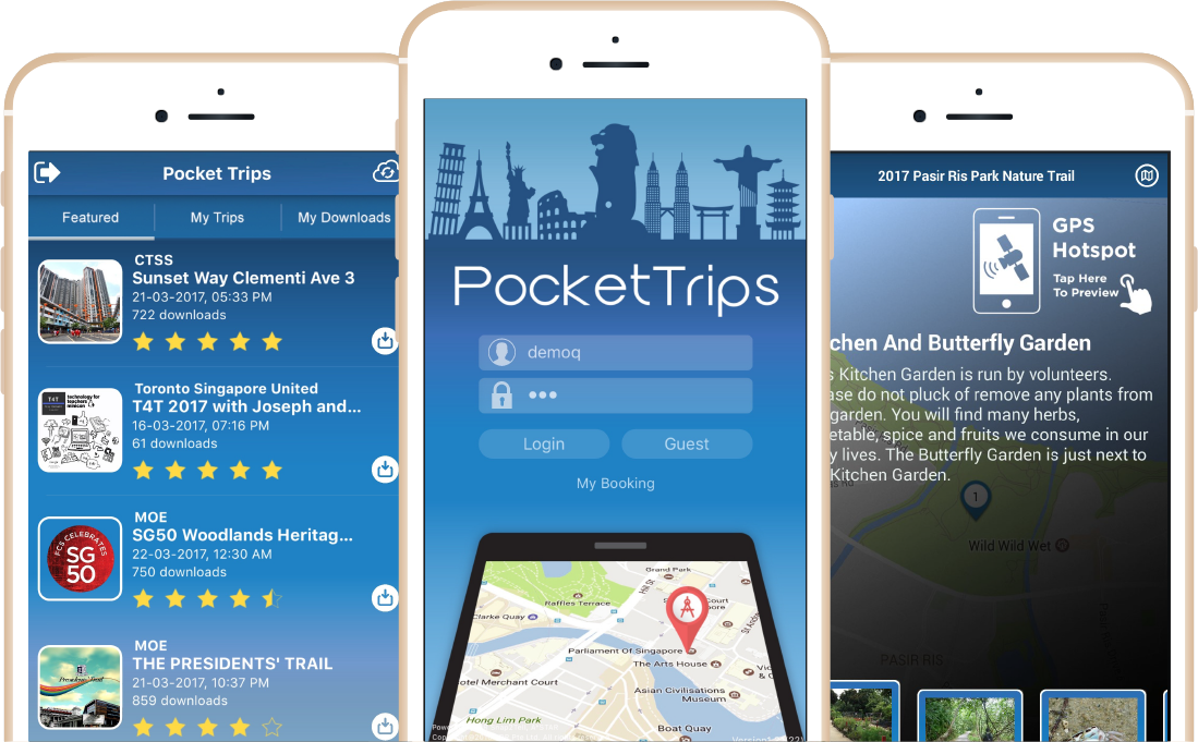 Pocket Trips App